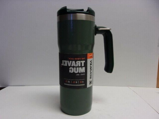 portable classic twin lock travel mug double