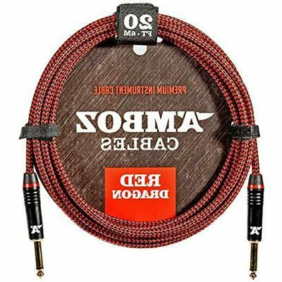 red categories dragon instrument cable noiseless