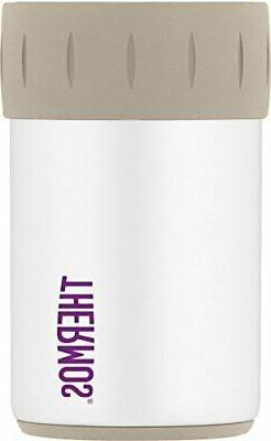 Thermos Stainless Steel Beverage Can Insulator for 12 Ounce