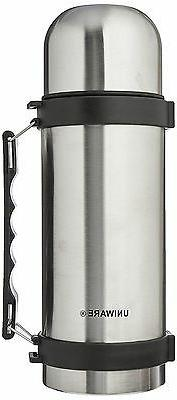 Uniware Stainless Steel Flask Thermos, Insulated 1L