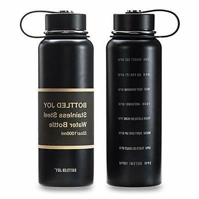 stainless steel water bottle with catalytic limit