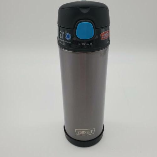 Thermos Straw Bottle - Smoke