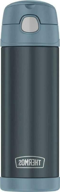 thermos funtainer 16 ounce stainless steel water