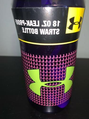 Under Armour Thermos oz Hydration Flip purple/green M