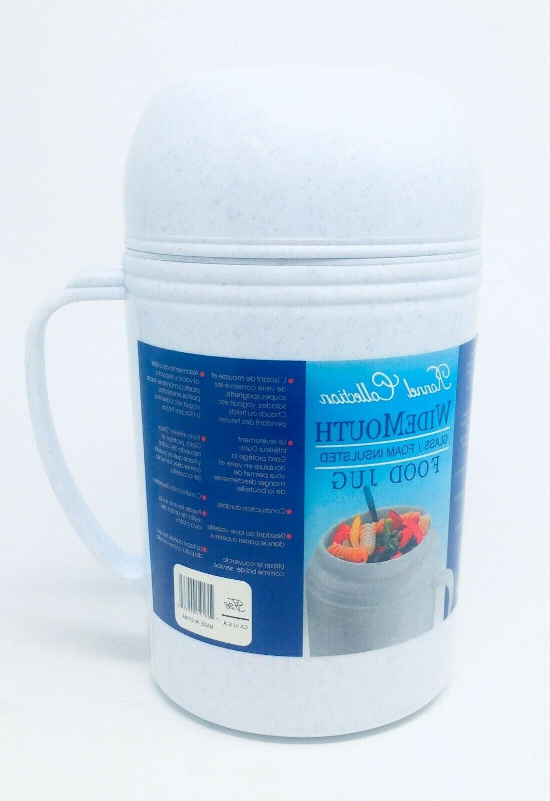 Ronnel Glass Insulated Food Food Thermos