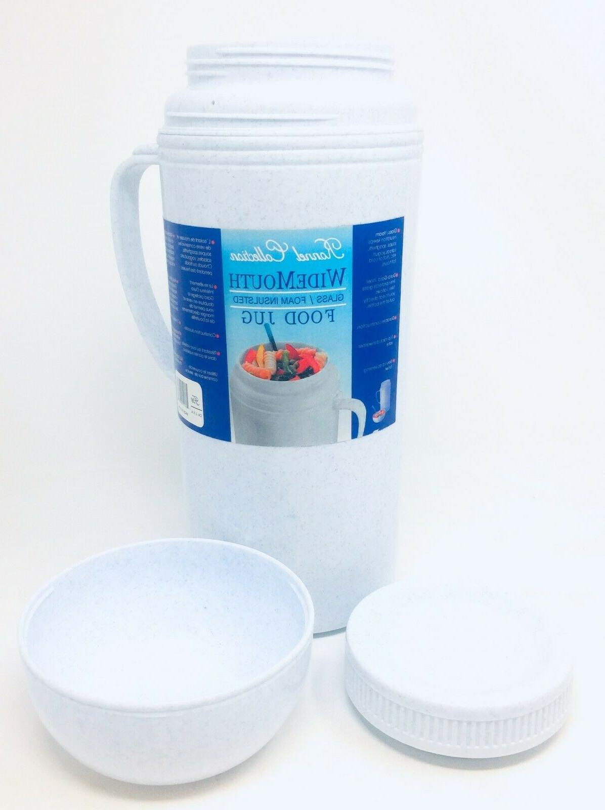 Ronnel Collection Wide Glass & Foam Food | Thermos
