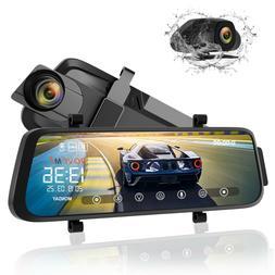 Rove M3 9.66'' 1080P Car DVR Streaming Mirror Dash Cam Dual