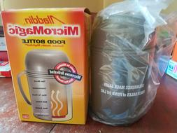 Aladdin Micro Magic Food Bottle Thermos Microwave Activated