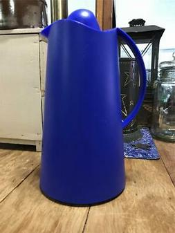 NEW German Germany ALFI Blue Thermal Glass-Lined Pitcher LA