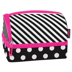 NEW Thermos Stripe & Dots Insulated Lunch Box Kit Pack-in Co