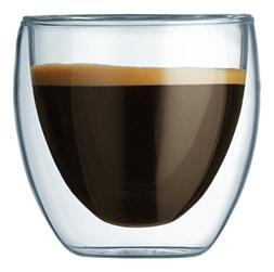 Bodum Pavina Double Wall Espresso/Shot Glass - Set of 2