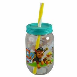 3-Pack Paw Patrol Canning Jar Tumblers with Screw-on Lid and