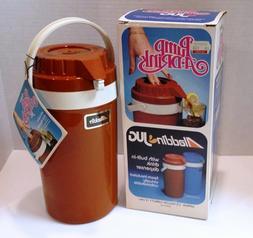 Aladdin Pump A Drink 1/2 Gallon Dispenser Red Vintage Insula