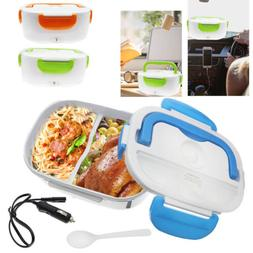 Quality 12V Portable Car Electric Heating Lunch Box Food Hea