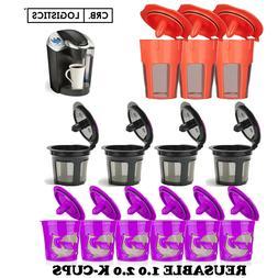 Refillable Reusable K-Cup K Carafe Coffee Filter Pod Fits Ke