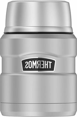 Thermos Stainless King 16 Ounce Food Jar with Folding Spoon,