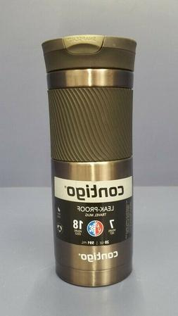 Stainless Steel Travel Coffee Mug Vacuum Insulated Handle Te