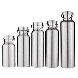 Stainless Steel Double Wall Vacuum Insulated Water Bottle Th