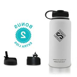 Stainless Steel Fitness Sport Water Bottle Thermos-PLUS 3 LI