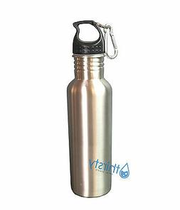 Stainless Steel Mug Silver Container Water Bottle BPA Free T