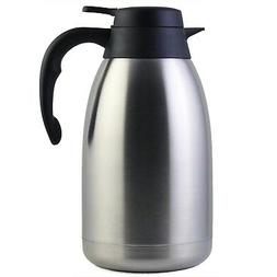 68 Oz Stainless Steel Thermal Carafe / Double Walled Vacuum