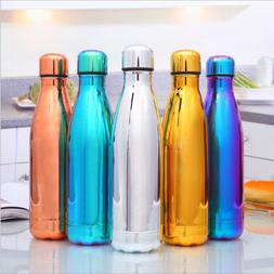 Stainless Steel Water Bottle Vacuum Hydro Flask Leak Proof T
