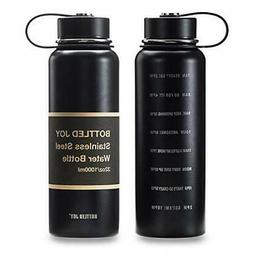 Stainless steel water bottle with catalytic limit 1 liter ca