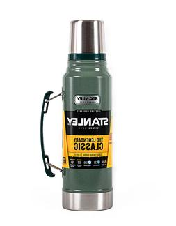 Stanley Thermos Classic Vacuum Bottle Hammertone Green 1.1 Q