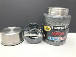 Thermos Steel Vacuumware King Food Jar, 16-Oz Insulated Bott