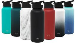 Simple Modern Summit Water Bottle w Flip Lid - Hydro Vacuum