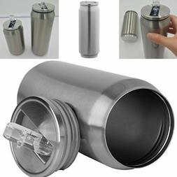 Thermos Mug Tumbler With Lid And Straw Can Stainless Steel C