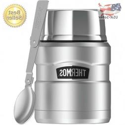 Thermos Stainless King Vacuum-Insulated Food Jar With Foldin