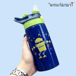 Transhome Stainless Steel Thermos Kids Thermos Water Bottle