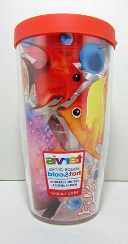Tervis Tumbler Underwater Orange Tropical Fish 16oz