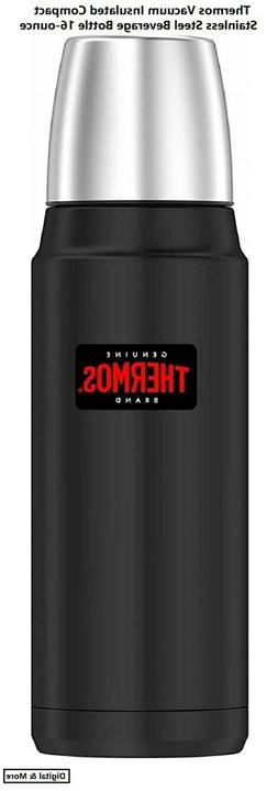 Thermos Vacuum Insulated Compact Stainless Steel Beverage Bo