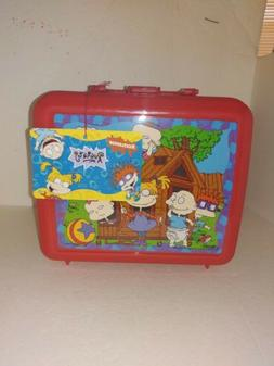 Vintage 1997 RUGRATS Plastic Aladdin Lunchbox With Thermos C