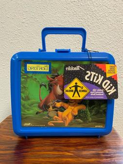 Vintage 90s The Lion King Lunch Box Thermos Complete Set Bra