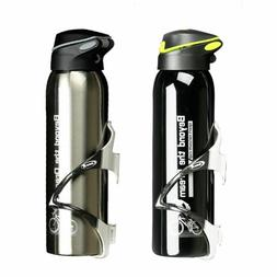 Water Bottle Mountain Bicycle Riding Aluminum Alloy Thermos